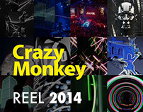 CrazyMonkey Reel 2014