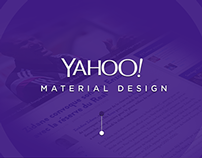 Yahoo Material Design - Article Page