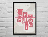 Timeless, Massimo Vignelli tribute poster exhibition