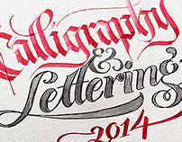 Calligraphy & Lettering Collection 2014