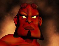 Hellboy in 3D