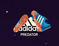 Adidas Predator Microsite