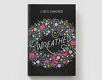 """""""Wreathed"""" Chalkboard Book Cover"""