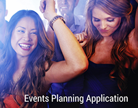 User Experience - Events Planning Application