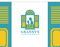 Granny's Window brand identity