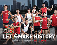 'Let's Make History' campaign design