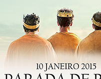 Parada dos Reis (Three Kings Parade) Poster