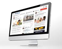News andg blogging website