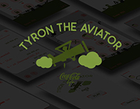 App Design and Concept: Tyron the aviator.