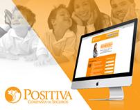 Campaña Marketing Digital Positiva Compañía de Seguros