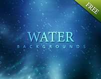 Free Download 11 Water Backgrounds 3000x2000px