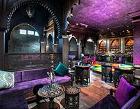 Interior photo for night club. Rixos Krasnaya Polyana
