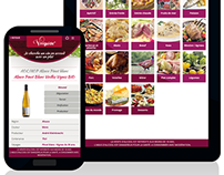 Viniguide - Instore Web Application
