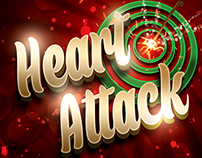 Heart Attack Valentine's Party Flyer