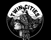 TWIN CITIES Tee
