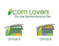 Corn Lovers on the Santa Monica Pier