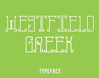 TypeFace | Westfield Greek