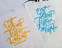 Brushpen Lettering Set 2