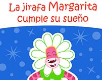 Coloring Book: La jirafa Margarita cumple su sueño