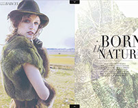 """Born in Nature""FSHN Magazine"