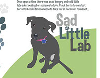 Little Lab Postcard