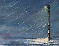 Düşen Kar 09 | Falling Snow 09
