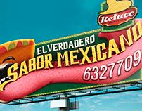 EL VERDADERO SABOR MEXICANO