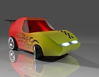 Toy Car product model