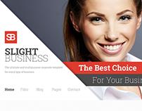 Slight Business - Responsive Corporate Template