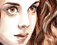 the wild eyes girl