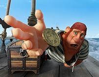 "CGI Animated Short: ""Dji. Death Sails"""