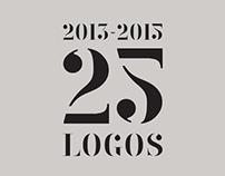 25 Logos | 2013 - 2015