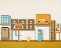 The Grand Budapest Hotel Vending Machines