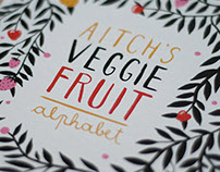 Aitch's Veggie Fruit Alphabet