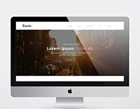 Sunn A creative portfolio theme.