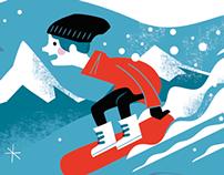 Migros editorial illustration