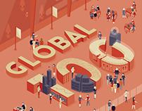 Cover Art- Wipro Global 100 Brochure