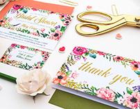Bridal Shower Invitation Suite