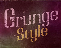 Dirty grunge fonts 2015