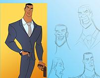 Character design: Secret Agent