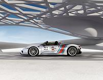 Porsche Martini 918
