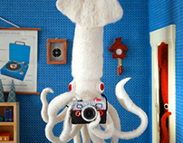 (Failed) Giant Squid Selfie