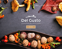 Del Gusto - Restaurant, Bar and Cafe Template