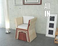 ALL IN - Living Room Furniture Set
