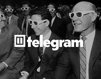Telegram Media Group - branding