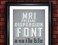 Dispersion Font