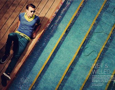 Maxim : WET & WILLED