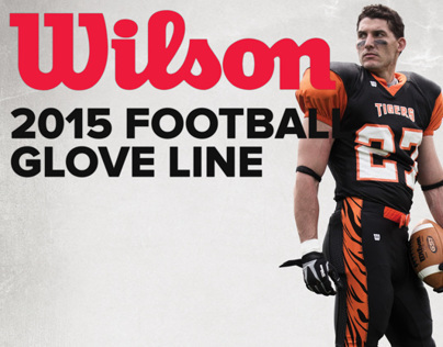 Wilson Football Gloves - 2015 Lineup