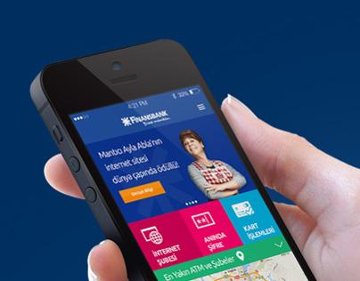 Finansbank // iOS Concept Design
