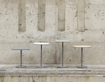 furniture design: side table m05